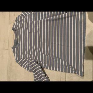 Striped Gap sweater size xl.